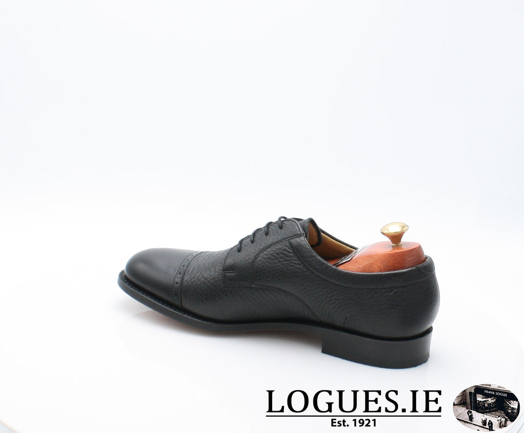 STAINES BARKER-Mens-BARKER SHOES-BLACL-10-Logues Shoes