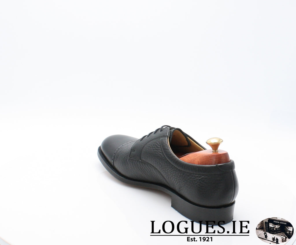 STAINES BARKER-Mens-BARKER SHOES-BLACL-10.5-Logues Shoes