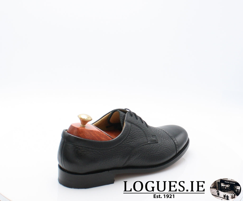 STAINES BARKER-Mens-BARKER SHOES-BLACL-12-Logues Shoes