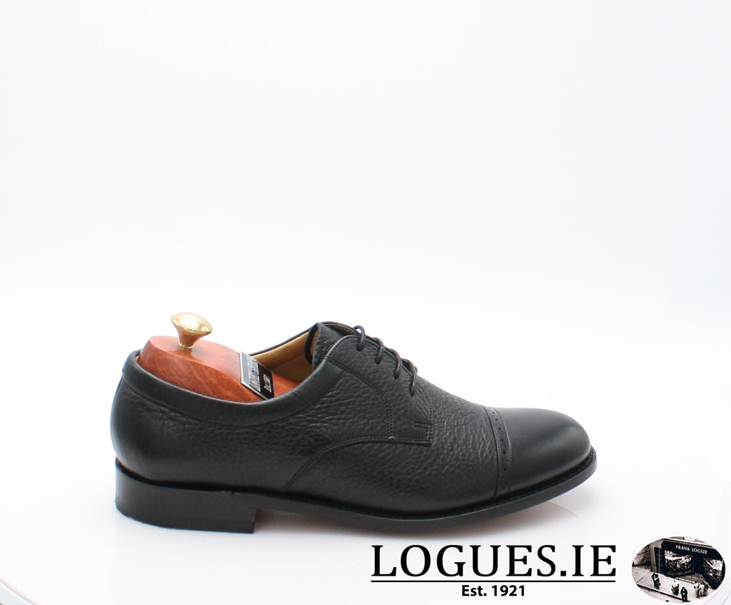 STAINES BARKER-Mens-BARKER SHOES-BLACL-6.6-Logues Shoes