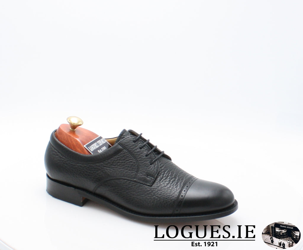 STAINES BARKER-Mens-BARKER SHOES-BLACL-7-Logues Shoes