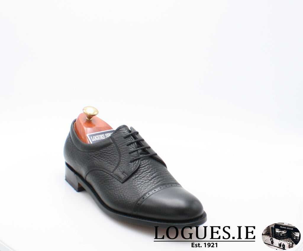 STAINES BARKER-Mens-BARKER SHOES-BLACL-7.5-Logues Shoes