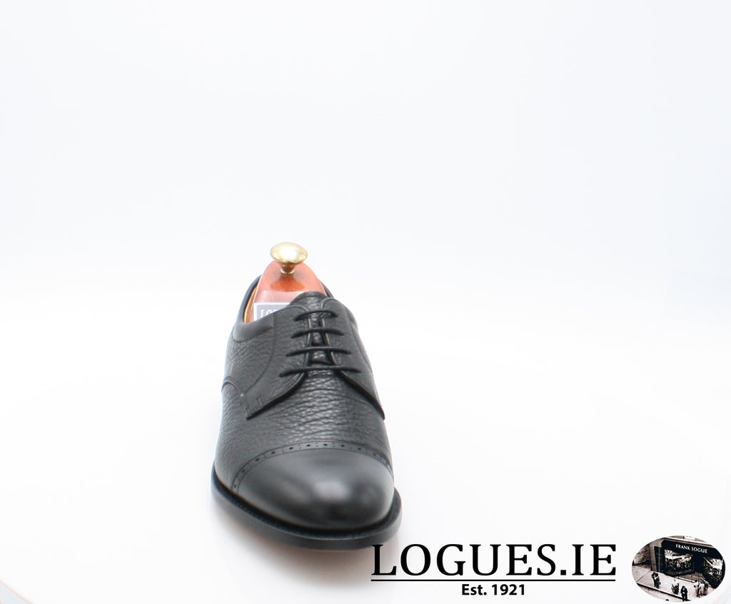 STAINES BARKER-Mens-BARKER SHOES-BLACL-8-Logues Shoes