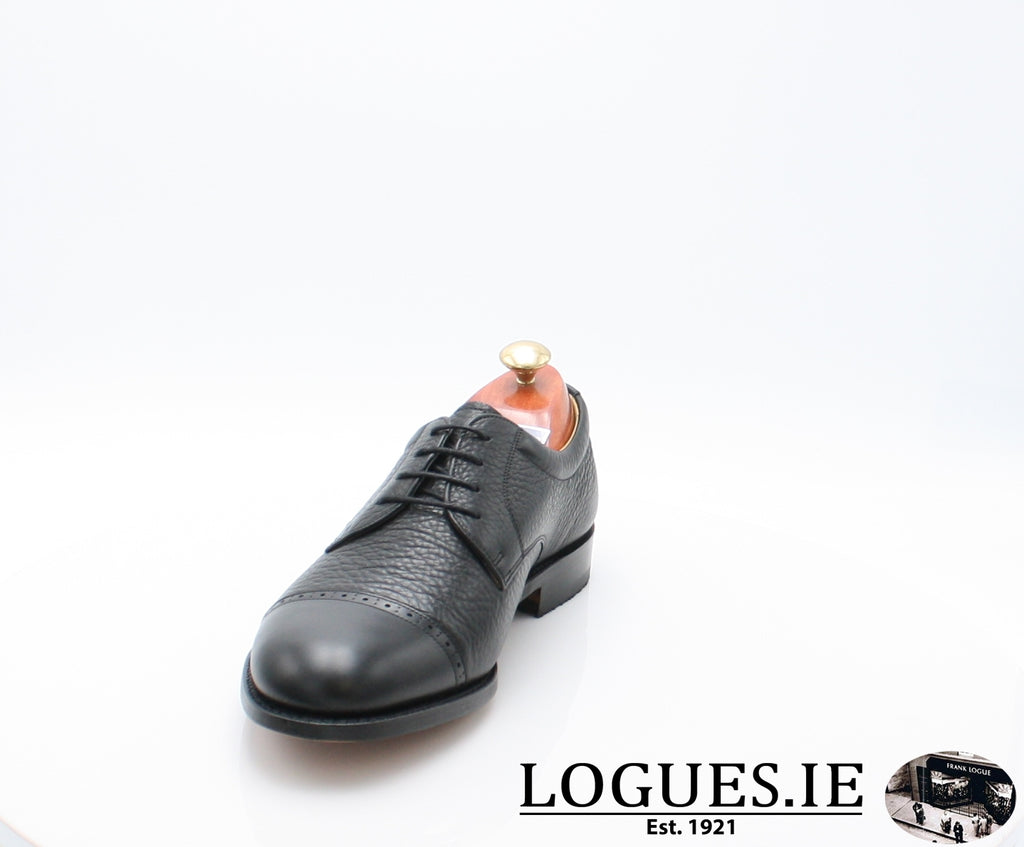 STAINES BARKER-Mens-BARKER SHOES-BLACL-8.5-Logues Shoes