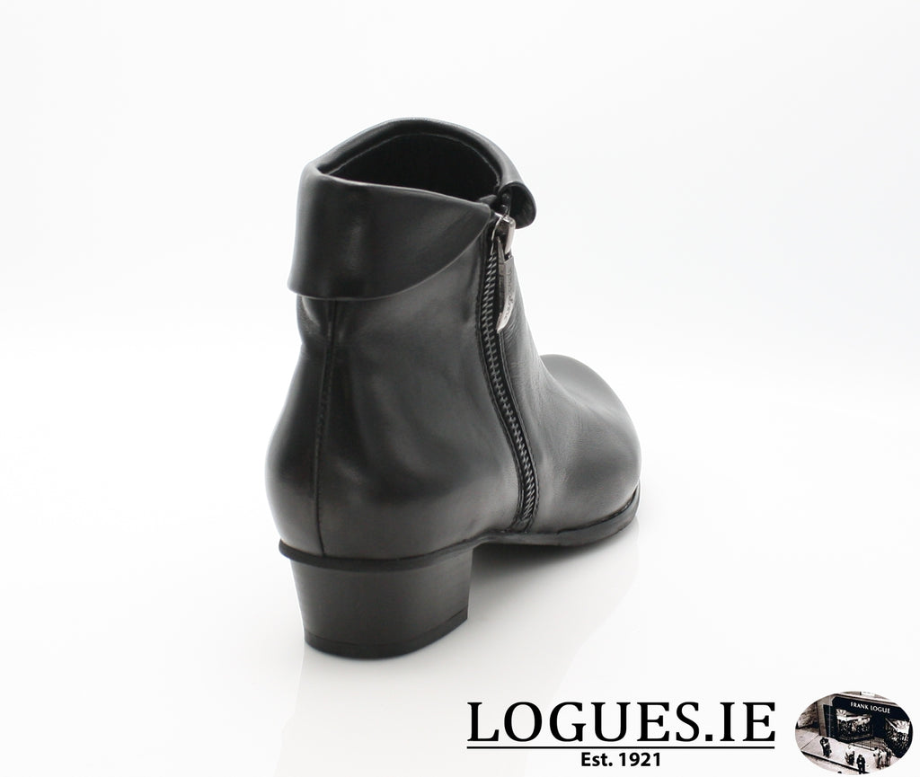 STEFANY 003277 AW/18LadiesLogues ShoesBLACK / 43 = 9 UK