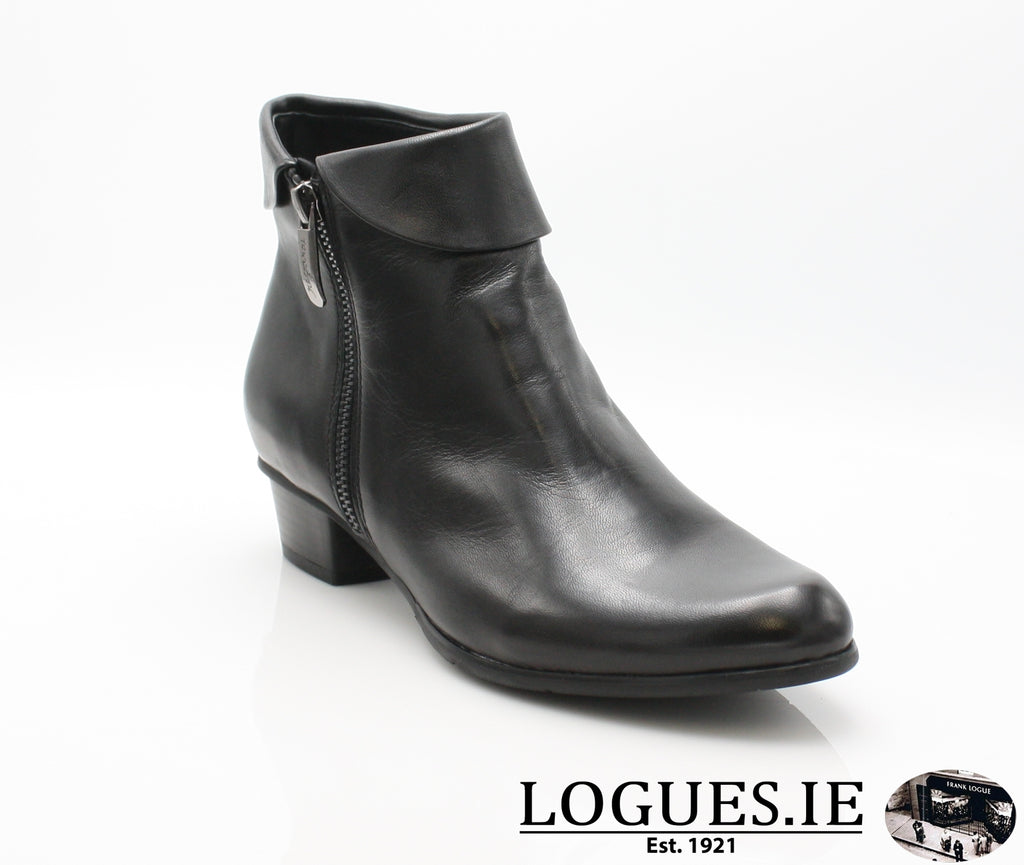 STEFANY 003277 AW/18LadiesLogues ShoesBLACK / 37 = 4 UK