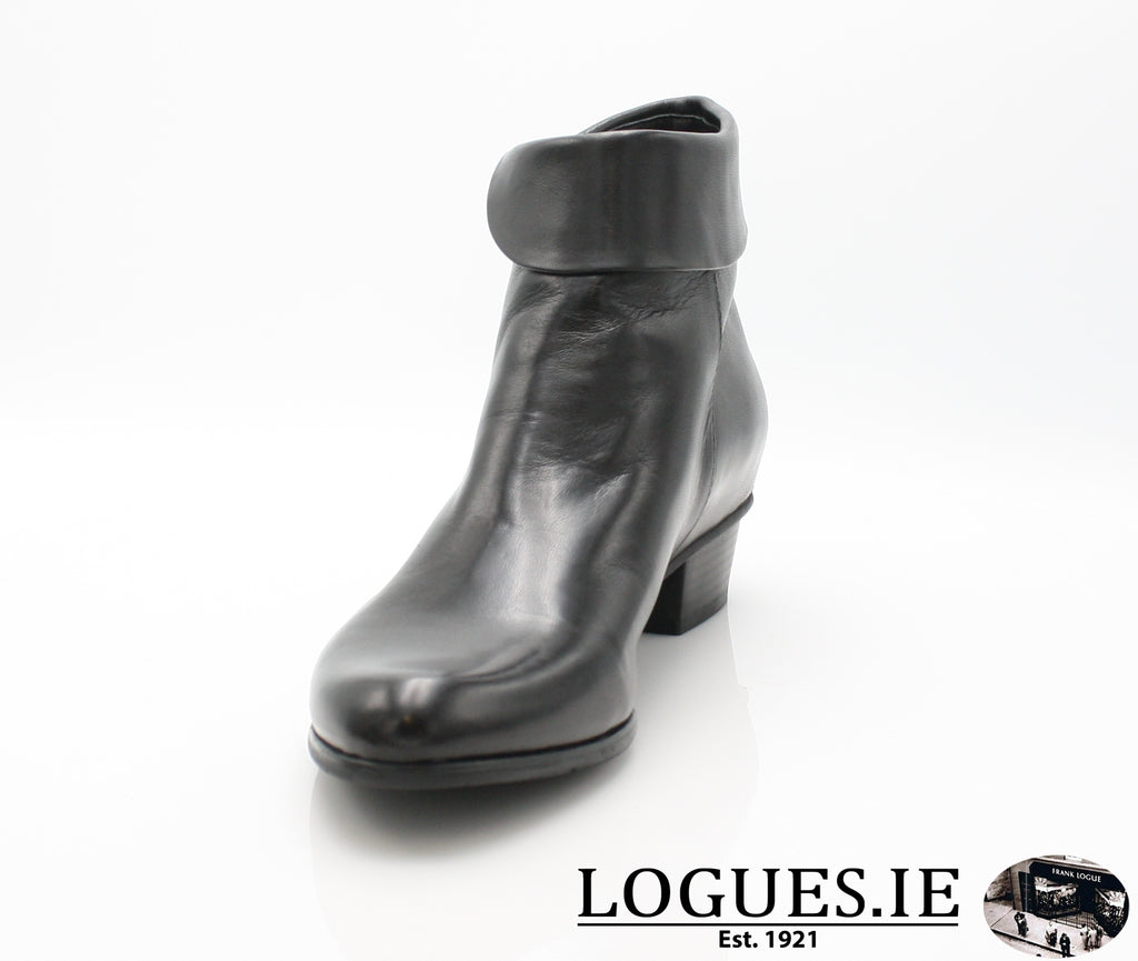 STEFANY 003277 AW/18LadiesLogues ShoesBLACK / 39 = 6 UK
