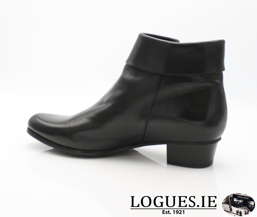 STEFANY 003277 AW/18LadiesLogues ShoesBLACK / 41 = 7/8 UK