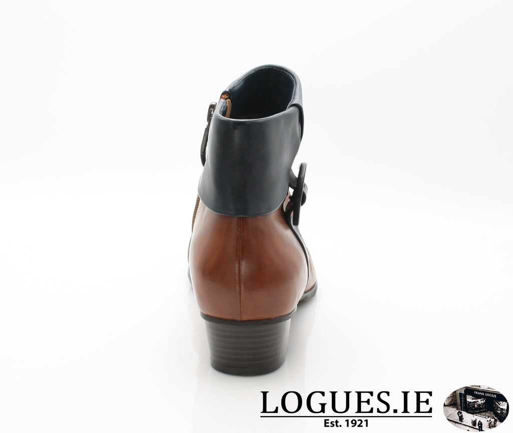 STEFANY 130 AW/18-Ladies-regarde le ciel-COGNAC/NAVY-7.5 UK 41.5 EU-Logues Shoes