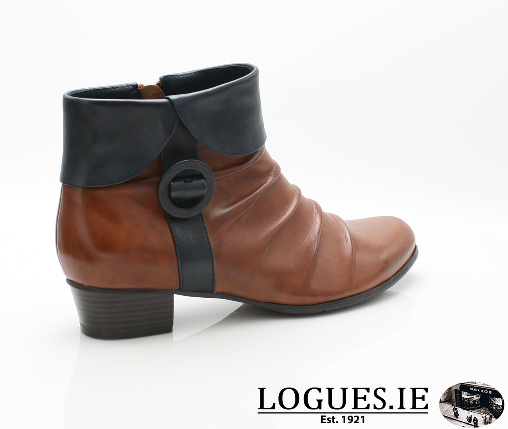 STEFANY 130 AW/18-Ladies-regarde le ciel-COGNAC/NAVY-8 UK - 42 EU-Logues Shoes