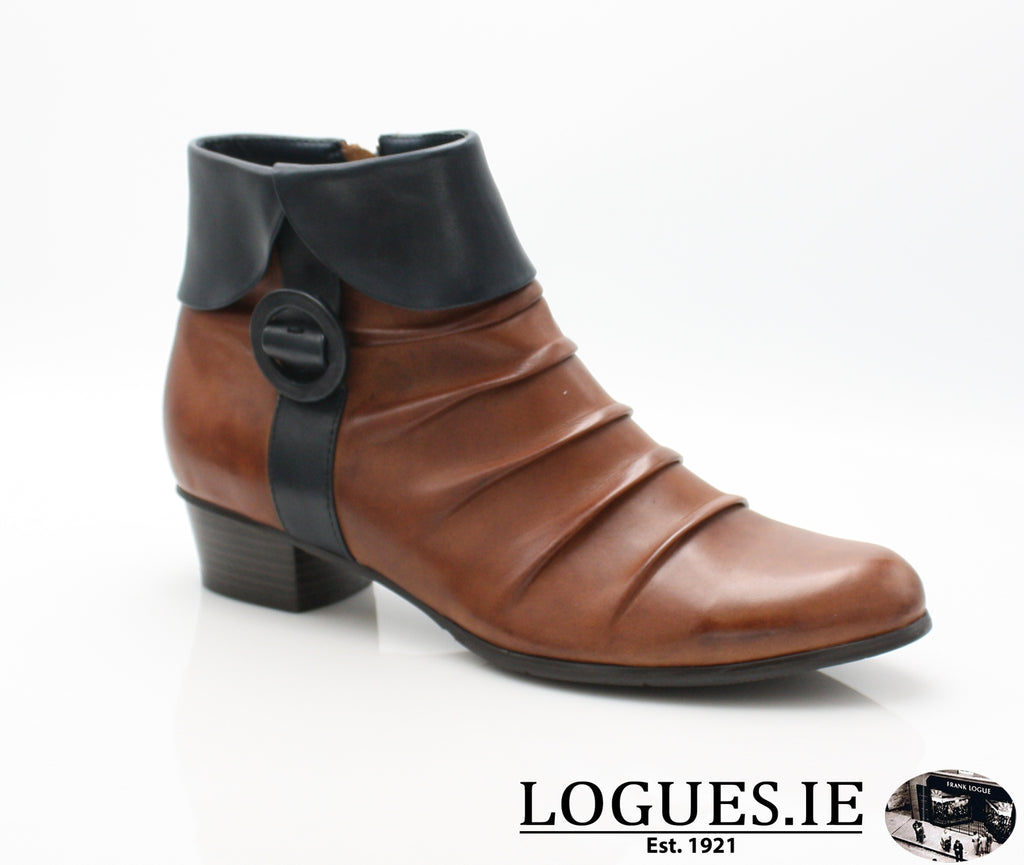 STEFANY 130 AW/18-Ladies-regarde le ciel-COGNAC/NAVY-4.5 UK - 37.5 EU-Logues Shoes