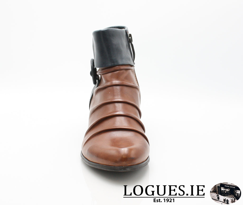 STEFANY 130 AW/18-Ladies-regarde le ciel-COGNAC/NAVY-5 UK- 38 EU-Logues Shoes