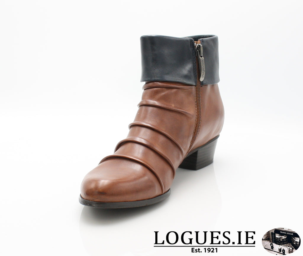 STEFANY 130 AW/18-Ladies-regarde le ciel-COGNAC/NAVY-5.5 UK - 38.5/39 EU-Logues Shoes