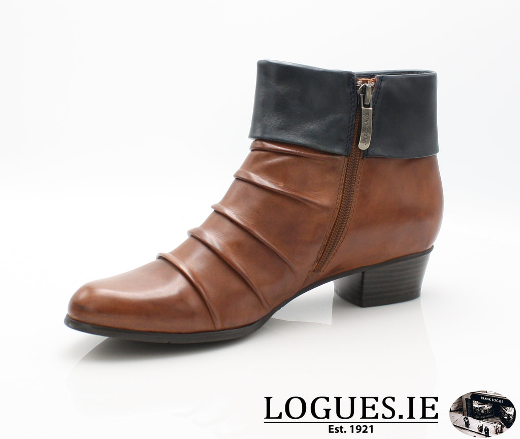 STEFANY 130 AW/18-Ladies-regarde le ciel-COGNAC/NAVY-6 UK- 39 EU-Logues Shoes