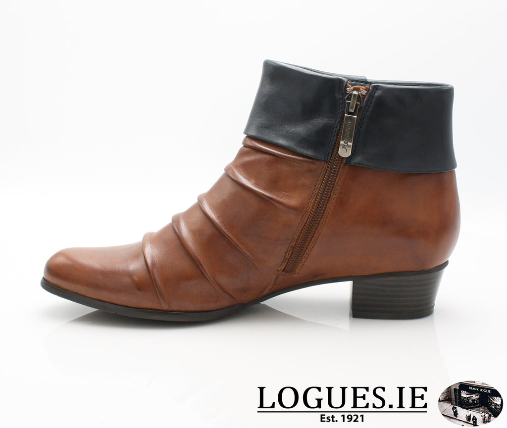 STEFANY 130 AW/18-Ladies-regarde le ciel-COGNAC/NAVY-6.5 UK -40 EU-Logues Shoes