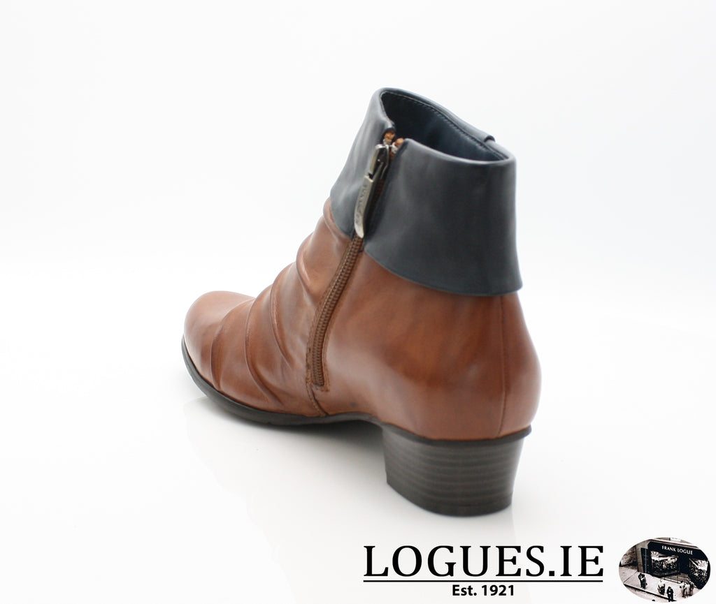 STEFANY 130 AW/18-Ladies-regarde le ciel-COGNAC/NAVY-7 UK- 41 EU-Logues Shoes