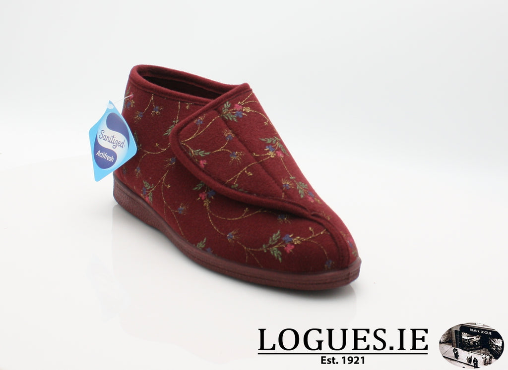 ls 629 d slipper, Ladies, COTTONMOUNT TRADING ( KIWI ), Logues Shoes - Logues Shoes.ie Since 1921, Galway City, Ireland.