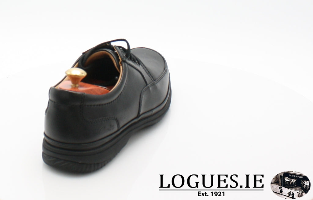 SWIFT MILE CLARK'S EX WIDE-Mens-Clarks-Black Leather-090-H-Logues Shoes