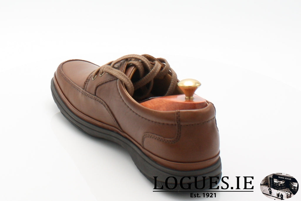 SWIFT MILE CLARK'S EX WIDE-Mens-Clarks-Mahogany Leathe-095-H-Logues Shoes