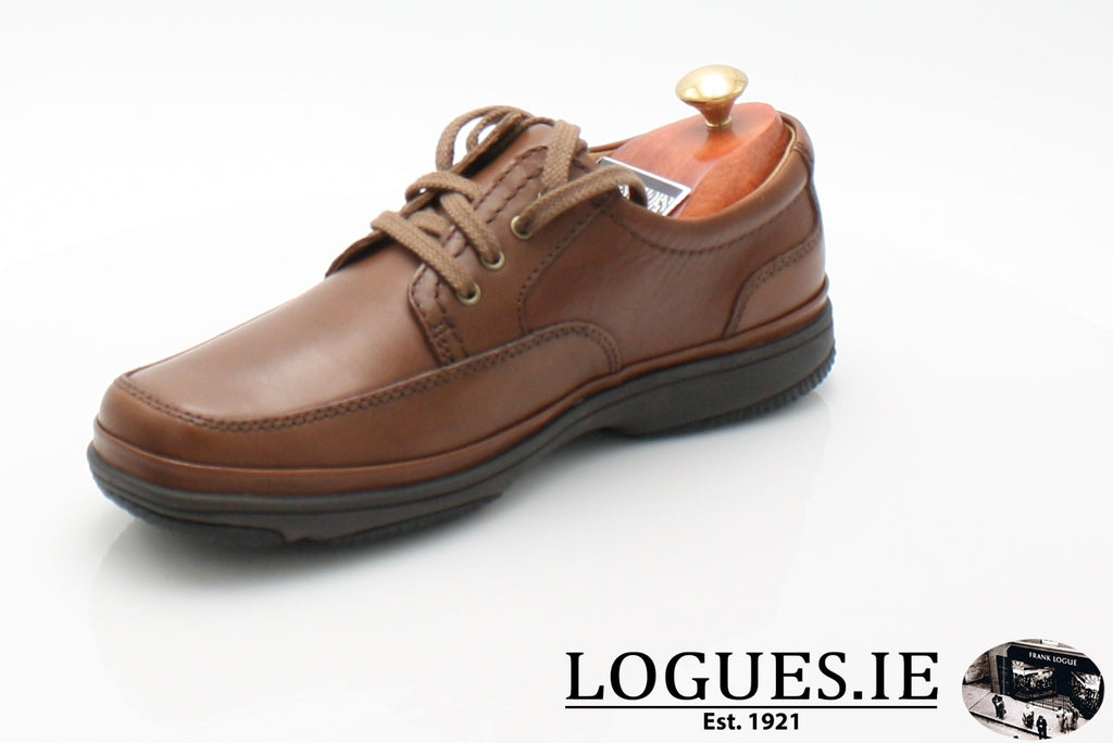 SWIFT MILE CLARK'S EX WIDE-Mens-Clarks-Mahogany Leathe-080-H-Logues Shoes