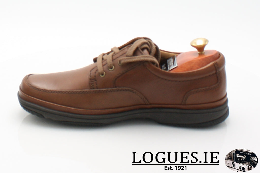 SWIFT MILE CLARK'S EX WIDE-Mens-Clarks-Mahogany Leathe-085-H-Logues Shoes