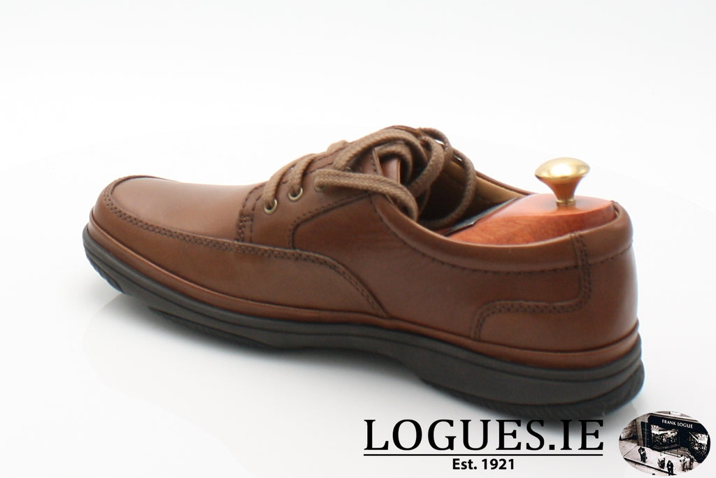 SWIFT MILE CLARK'S EX WIDE-Mens-Clarks-Mahogany Leathe-090-H-Logues Shoes