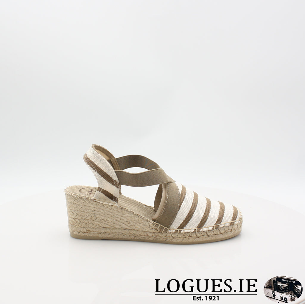 Tarbes 19 TONI PONSLadiesLogues ShoesECRU-STONE / 4 UK -37 EU - 6 US