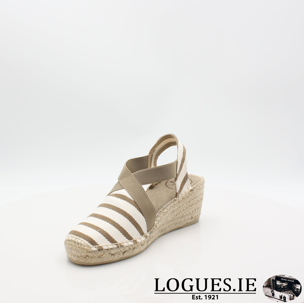 Tarbes 19 TONI PONSLadiesLogues ShoesECRU-STONE / 6.5 UK - 40 EU -8.5 US