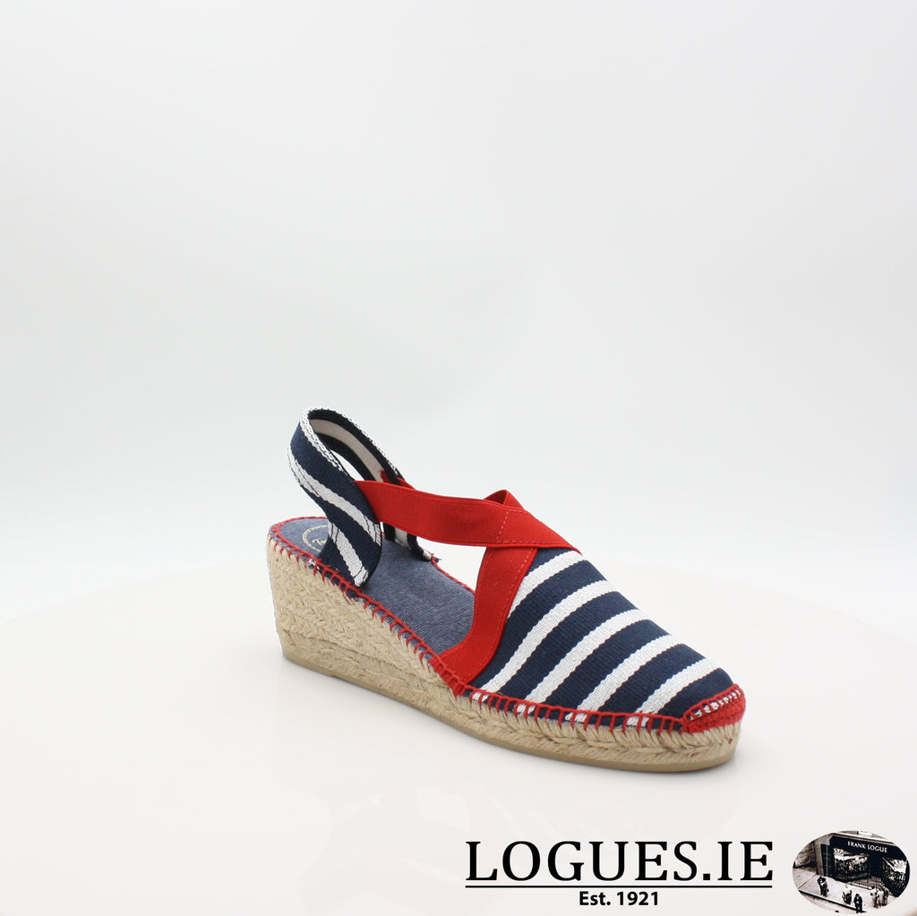 Tarbes 19 TONI PONSLadiesLogues ShoesMARINER / 5 UK- 38 EU- 7 US