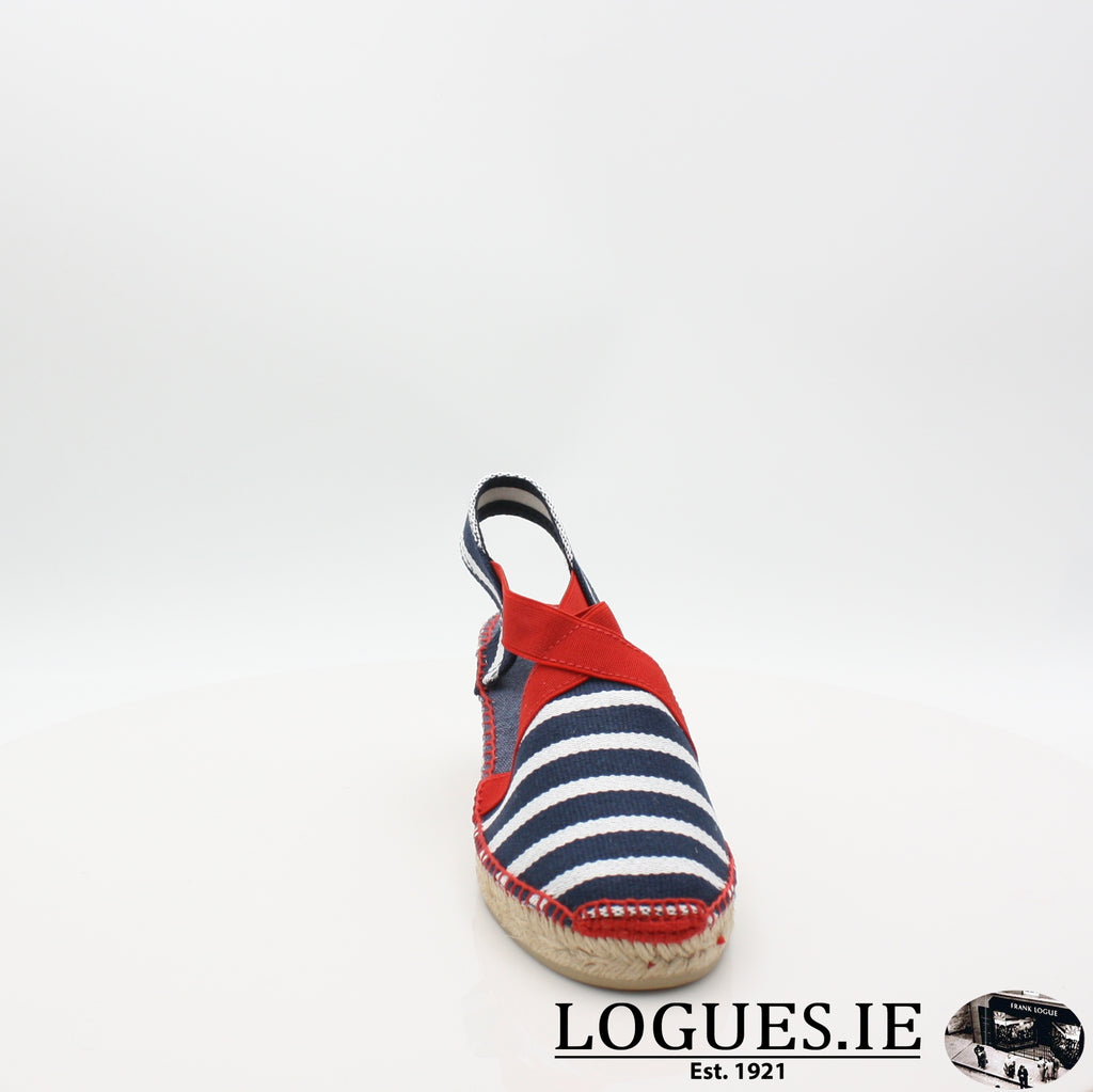Tarbes 19 TONI PONSLadiesLogues ShoesMARINER / 6 UK- 39 EU - 8 US