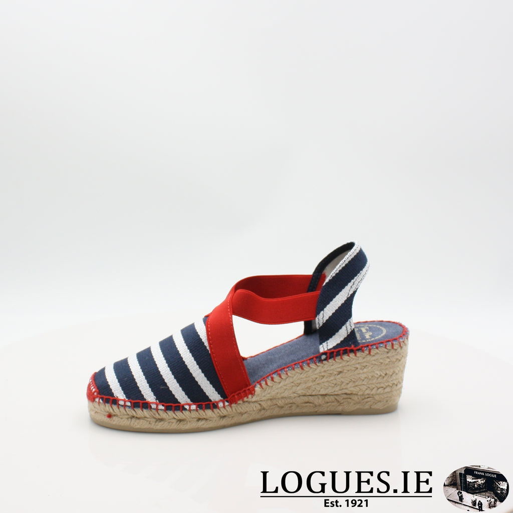 Tarbes 19 TONI PONSLadiesLogues ShoesMARINER / 7 UK- 41 EU - 9 US
