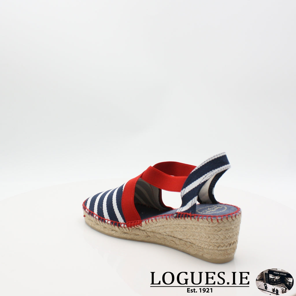 Tarbes 19 TONI PONSLadiesLogues ShoesMARINER / 8 UK - 42 EU -10 US