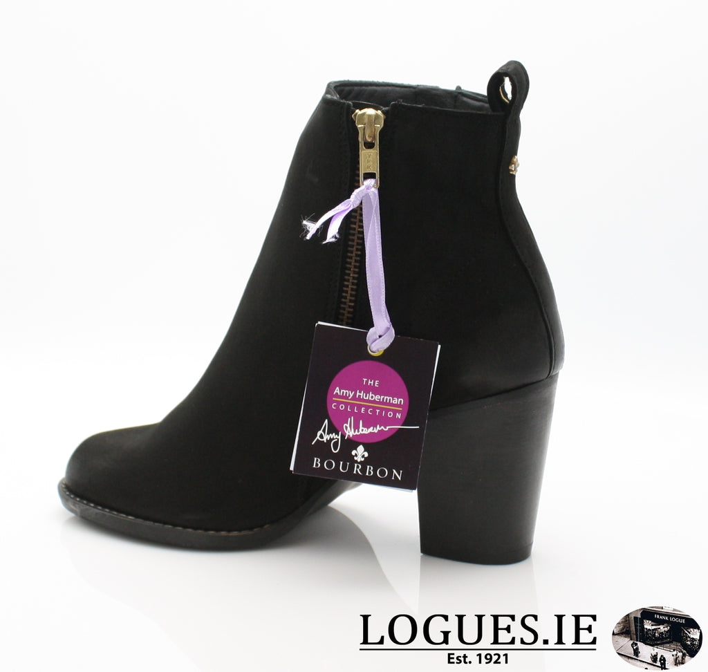 THE INTOUCHABLES AW18 AMY HUBE-Ladies-shoe city AMY-H+TOMMY-B SHOES-NOIR-36 = 3 UK-Logues Shoes
