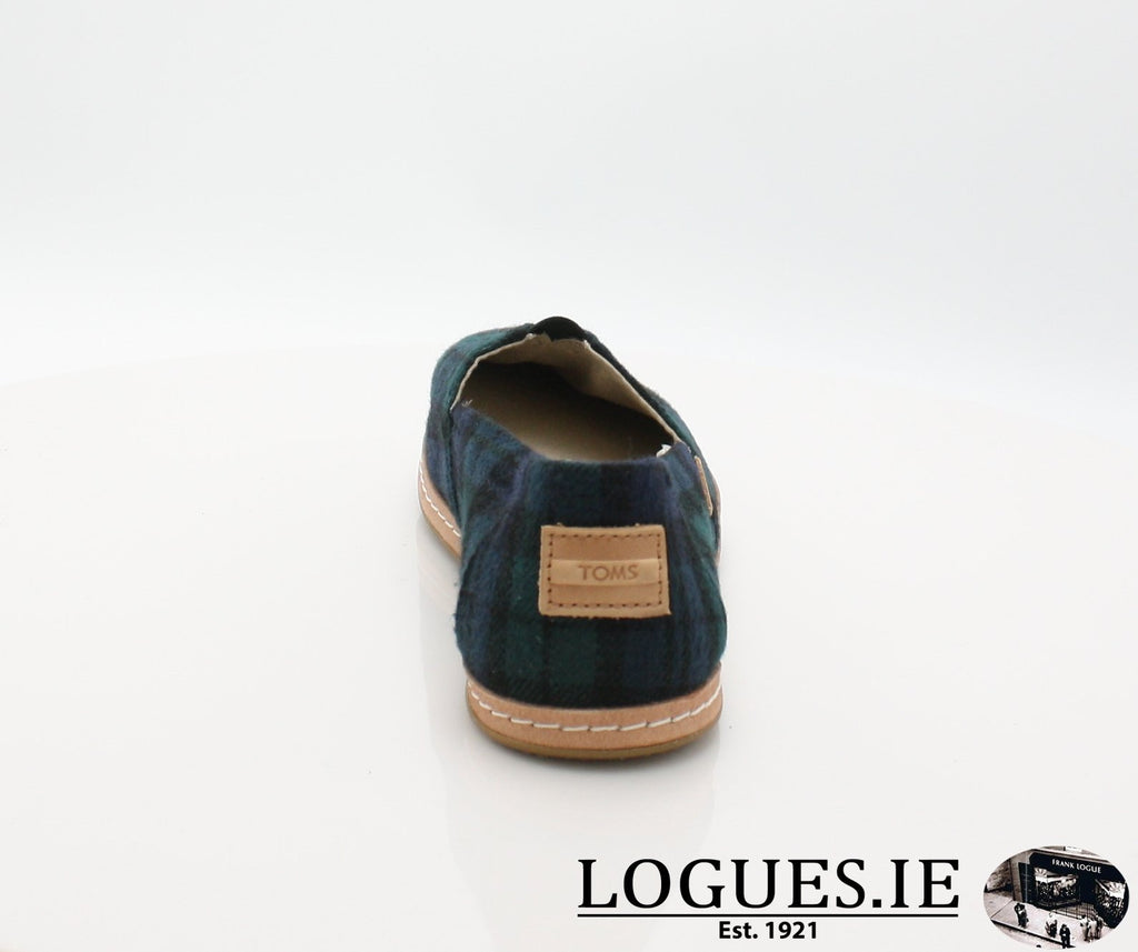 ALPR ESP-Ladies-TOMS SHOES-SPRUCE PLAID-7 UK = 9 US-Logues Shoes