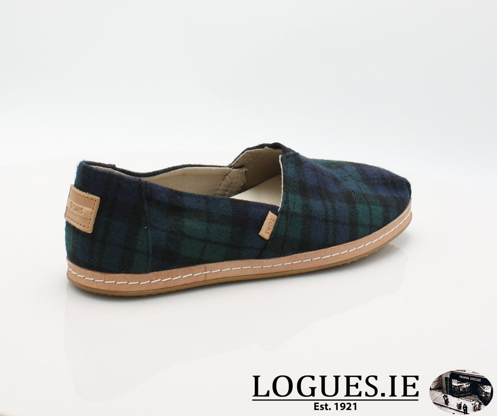 ALPR ESP-Ladies-TOMS SHOES-SPRUCE PLAID-8 UK = 10 US-Logues Shoes