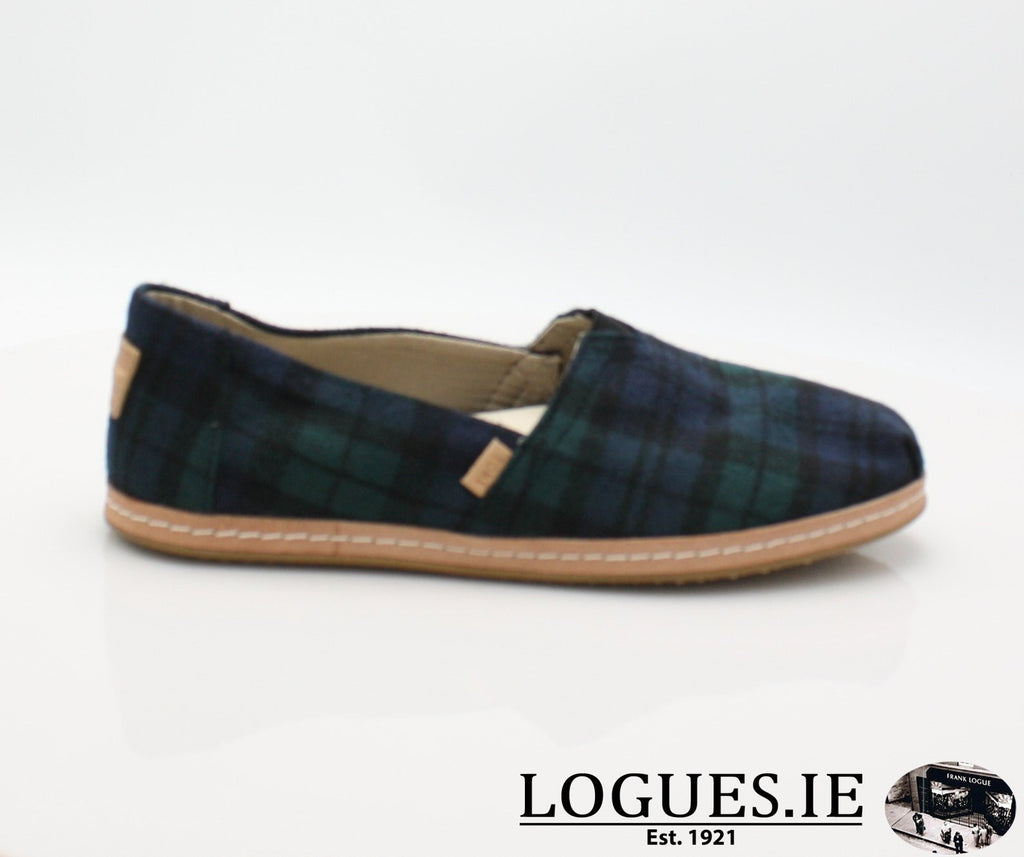 ALPR ESP-Ladies-TOMS SHOES-SPRUCE PLAID-3UK = 5 US-Logues Shoes