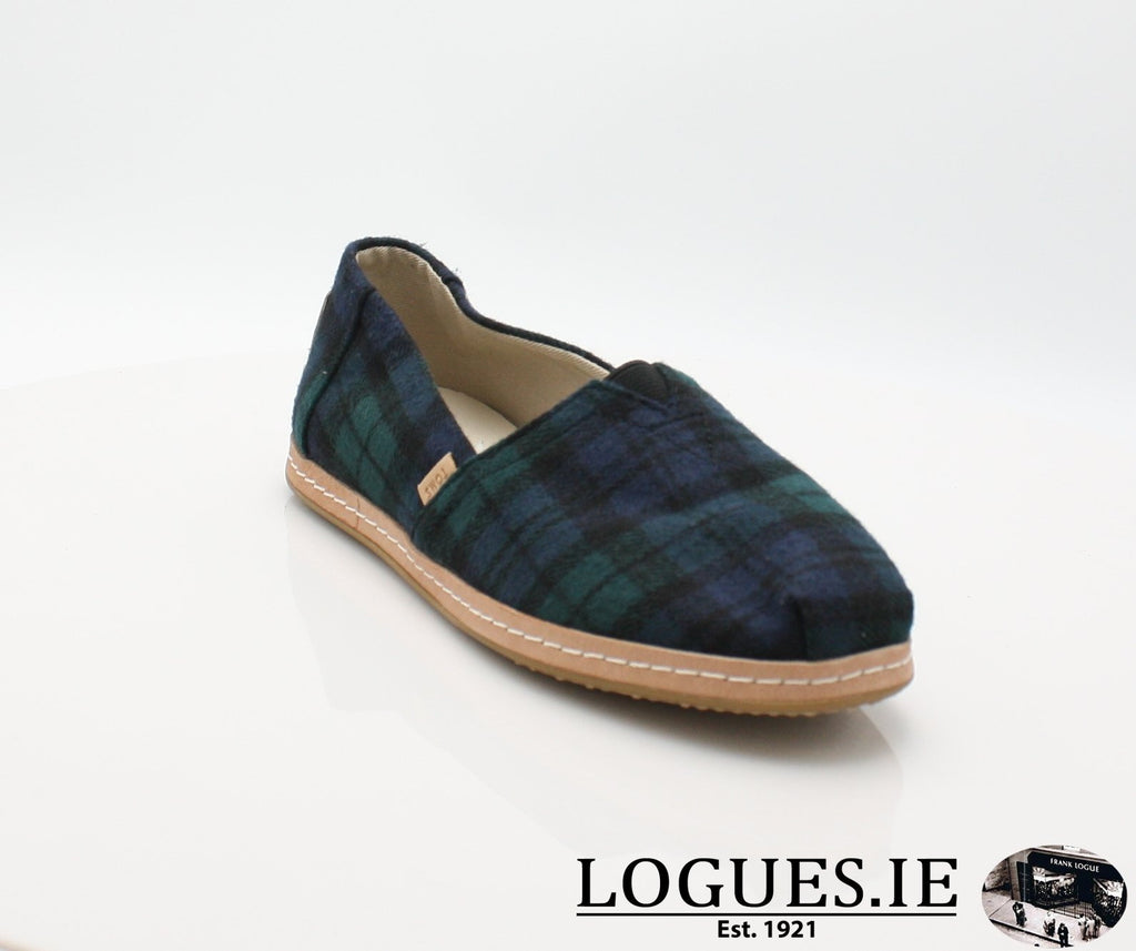 ALPR ESP-Ladies-TOMS SHOES-SPRUCE PLAID-4 UK = 6 US-Logues Shoes