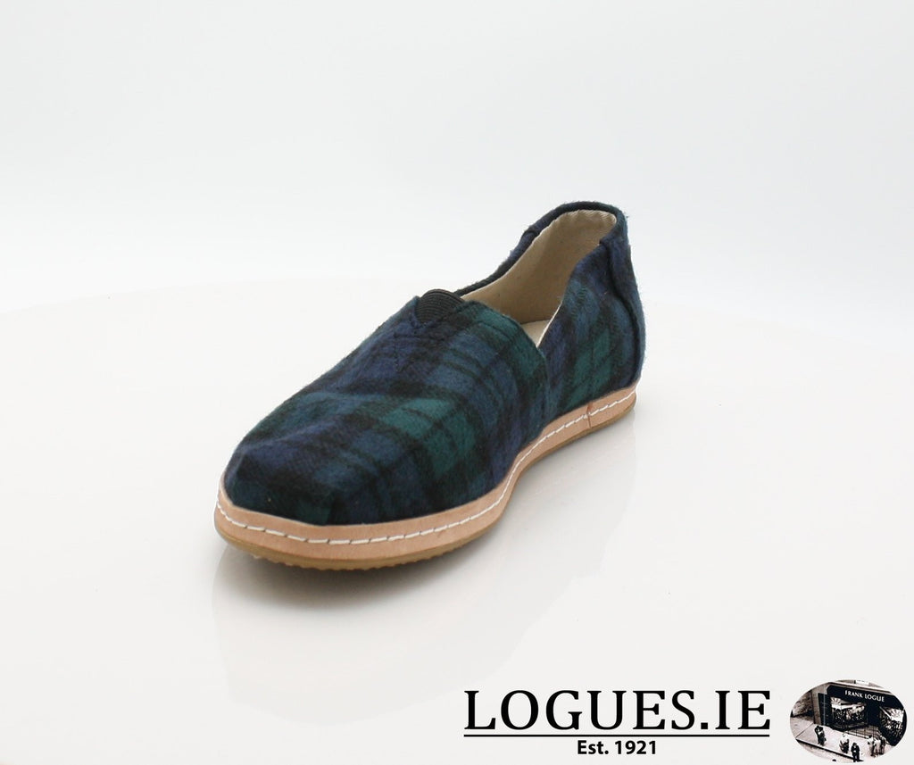 ALPR ESP-Ladies-TOMS SHOES-SPRUCE PLAID-5 UK =7 US-Logues Shoes