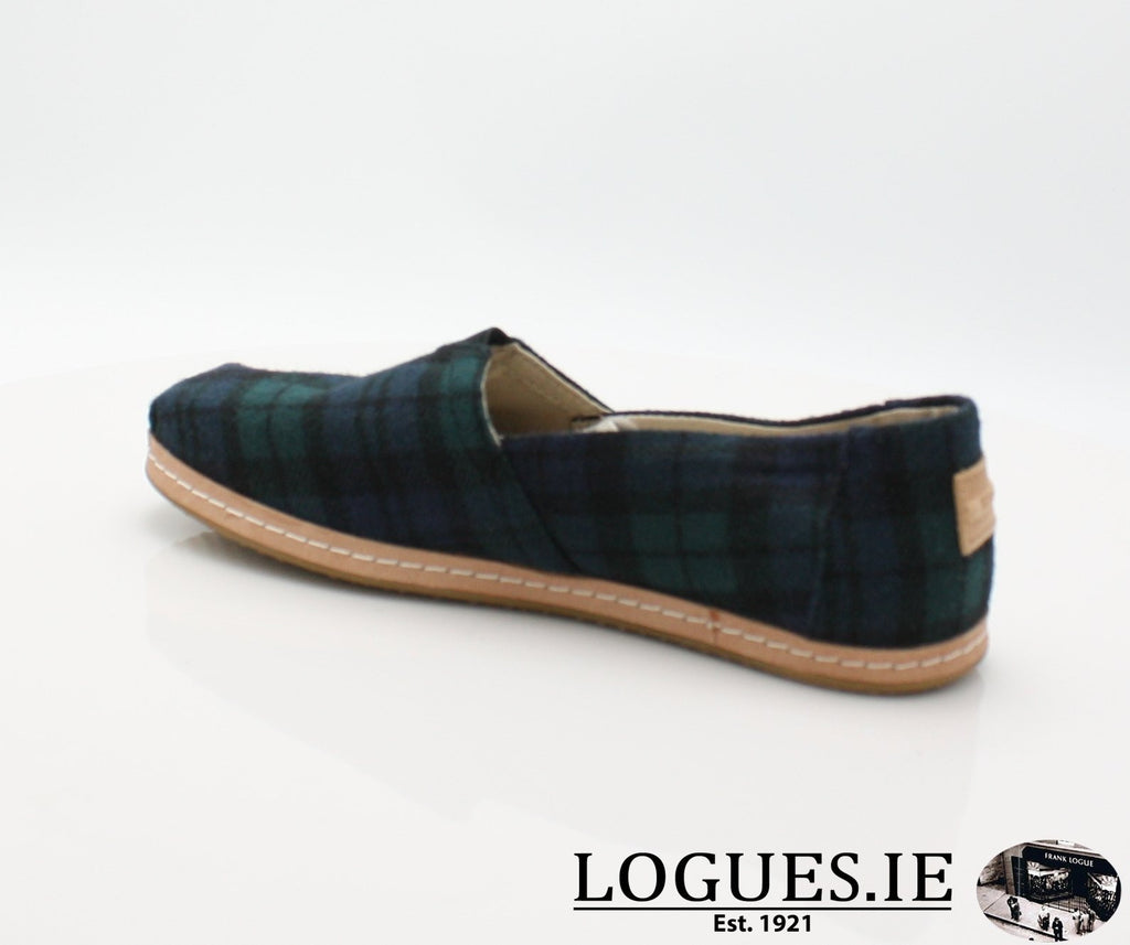 ALPR ESP-Ladies-TOMS SHOES-SPRUCE PLAID-6 UK = 8 US-Logues Shoes