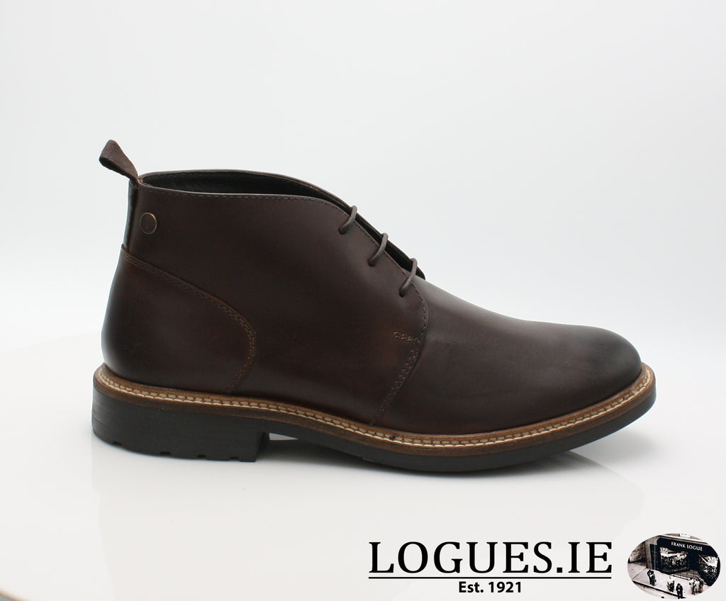 TULLY BASE LONDON AW18-Mens-base london ltd-BROWN PULL UP LEATHER-41 = 7 UK-Logues Shoes