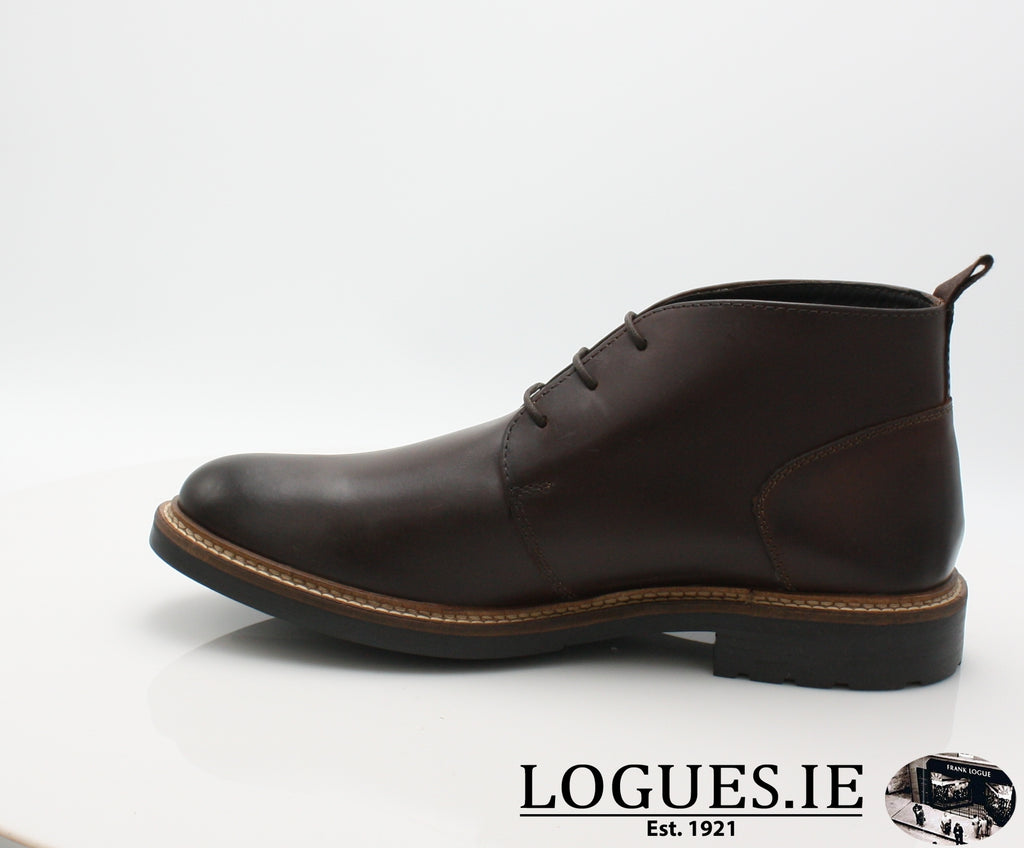 TULLY BASE LONDON AW18-Mens-base london ltd-BROWN PULL UP LEATHER-40 = 6.5 UK-Logues Shoes