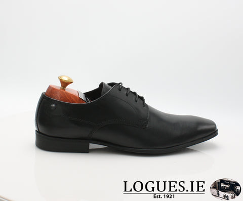 TYNE BASE LONDON SS18MensLogues ShoesBLACK WAXY / 41 = 7 UK