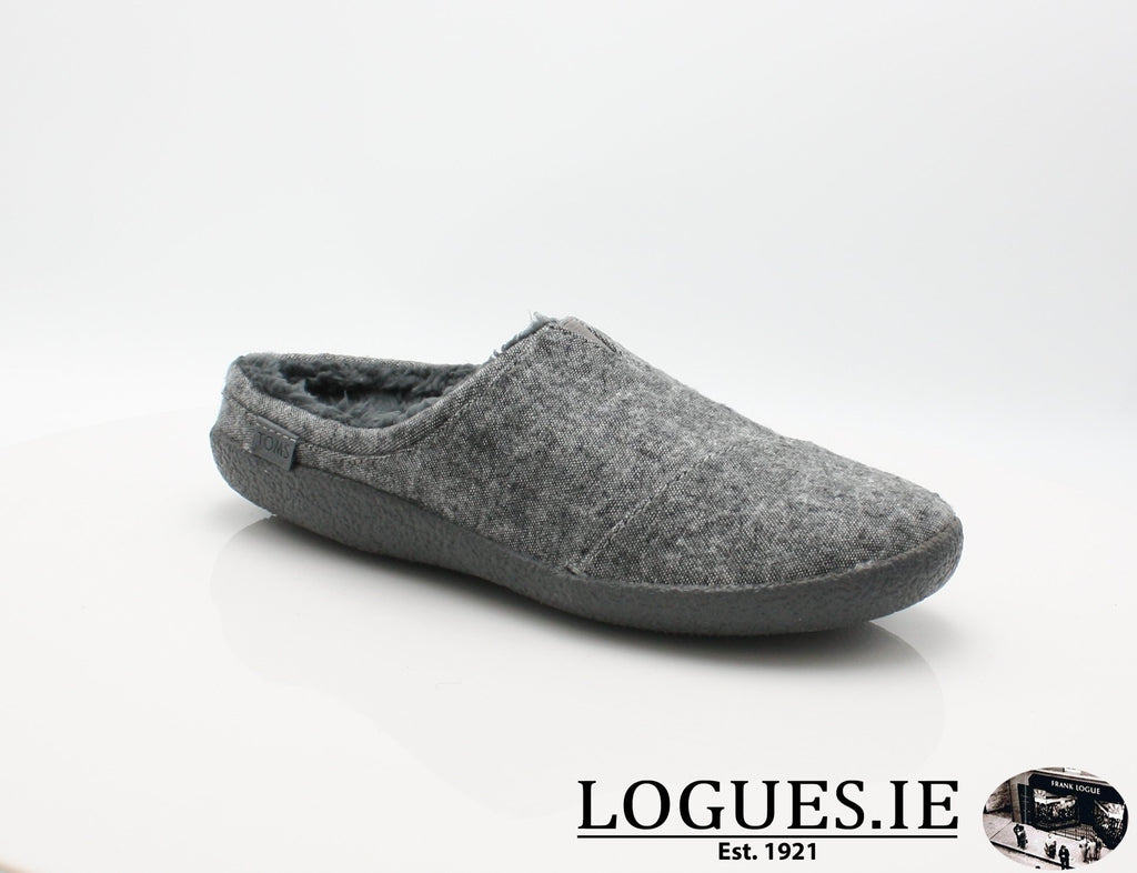 BERKLY TOMS-Mens-TOMS SHOES-GREY SLUB-7 UK -8US - 41 EU-Logues Shoes