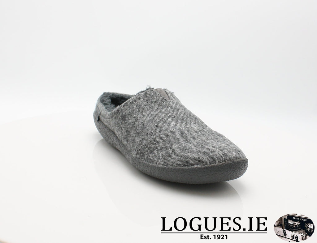 BERKLY TOMS-Mens-TOMS SHOES-GREY SLUB-8 UK - 9US - 42EU-Logues Shoes