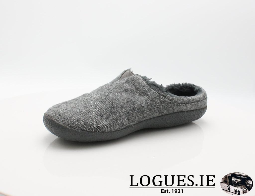 BERKLY TOMS-Mens-TOMS SHOES-GREY SLUB-11 UK - 12 US - 46 EU-Logues Shoes