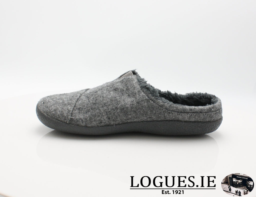 BERKLY TOMS-Mens-TOMS SHOES-GREY SLUB-12 UK- 13 US- 47 EU-Logues Shoes