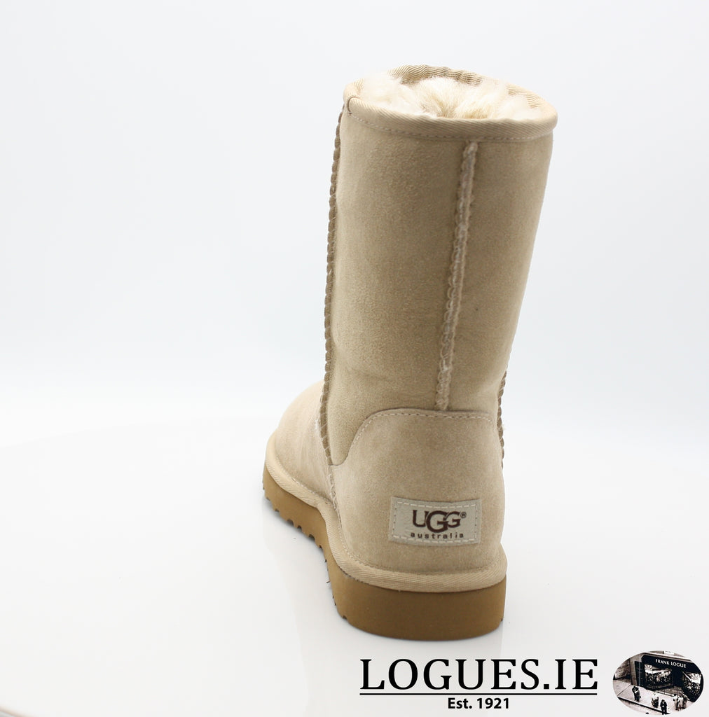 UGGS WMS CLASSIC SHORT 5825-Ladies-UGGS FOOTWEAR-SAND-41 EU 8.5UK 10 US-Logues Shoes