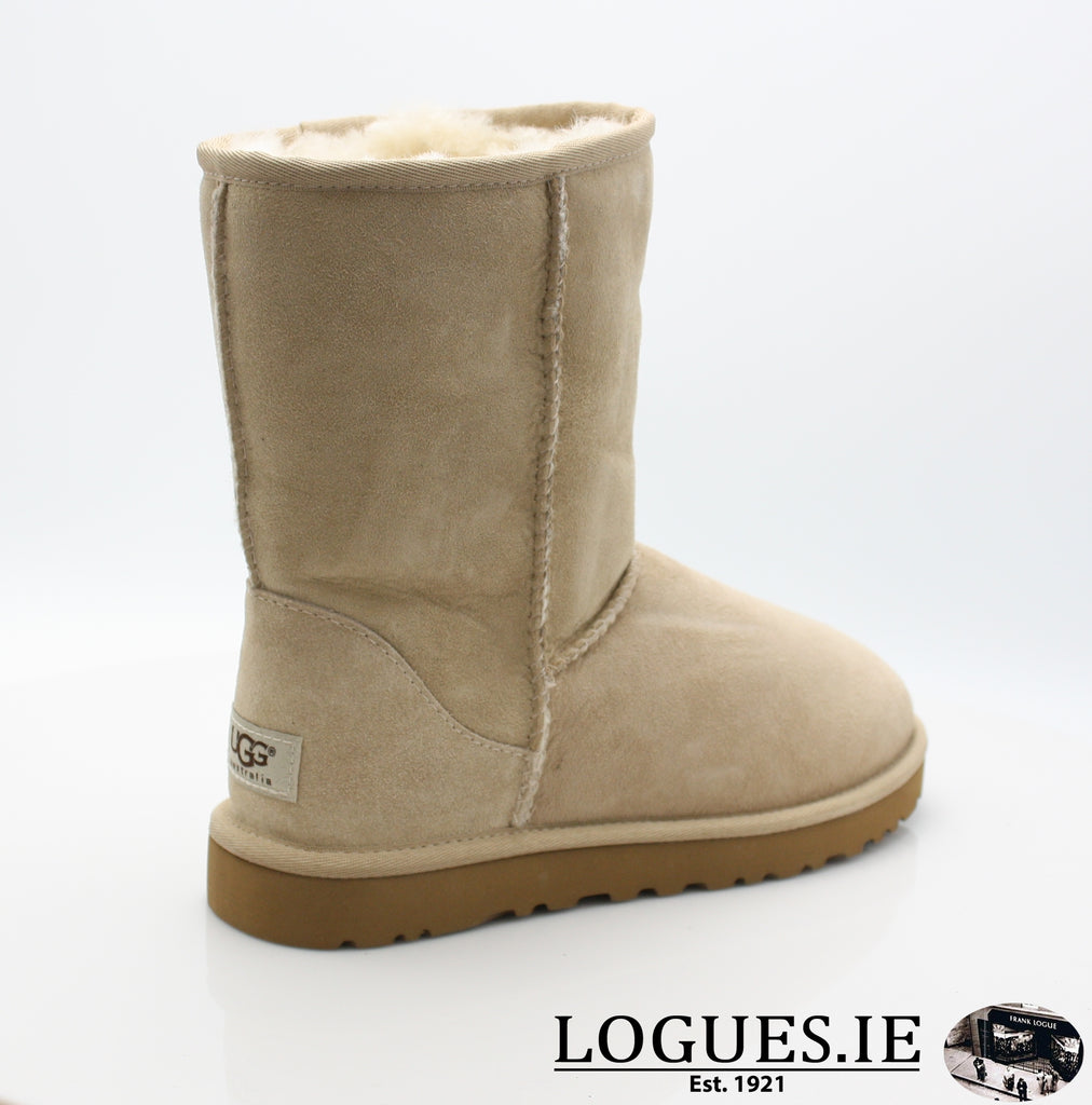 UGGS WMS CLASSIC SHORT 5825-Ladies-UGGS FOOTWEAR-SAND-42 EU 9.5 uk 11 us-Logues Shoes