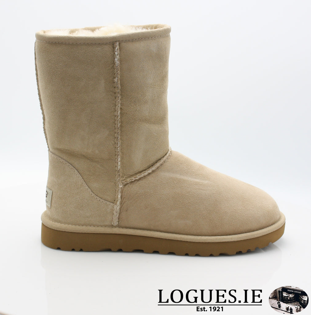UGGS WMS CLASSIC SHORT 5825-Ladies-UGGS FOOTWEAR-SAND-36 EU 3 .5uk 5 us-Logues Shoes