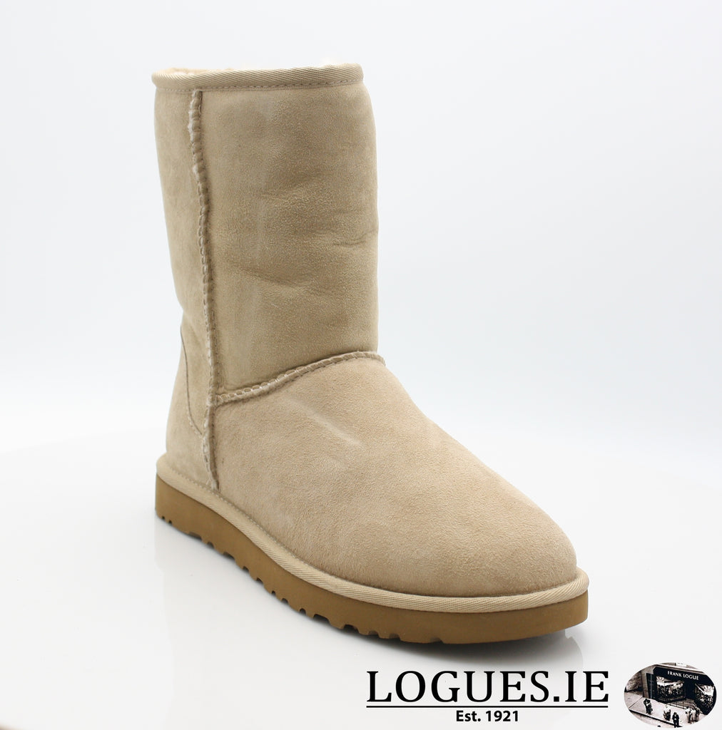 UGGS WMS CLASSIC SHORT 5825-Ladies-UGGS FOOTWEAR-SAND-37 EU4.5 UK 6 US-Logues Shoes